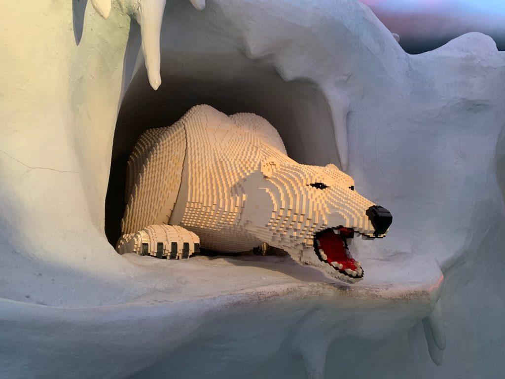Carlsbad Lego Land Polar Bear